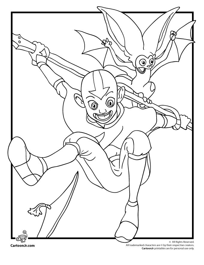 87 best images about LineArt: Avatar Last Airbender on