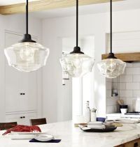 Love clear glass schoolhouse shades! | Let There Be Light ...