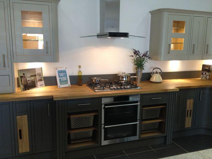 Somerton Sage Amp Somerton Fern Kitchen From Magnet