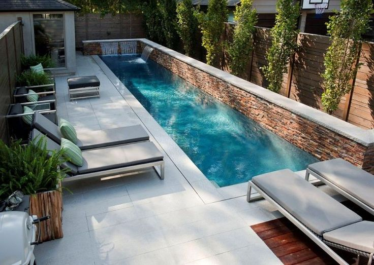 25 Best Ideas About Garten Mit Pool On Pinterest Versunkener