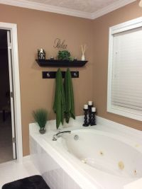 Bathroom wall decor | Bathroom garden tub wall | Pinterest ...