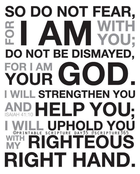 Quotes About Scriptures Isaiah 41 10. QuotesGram