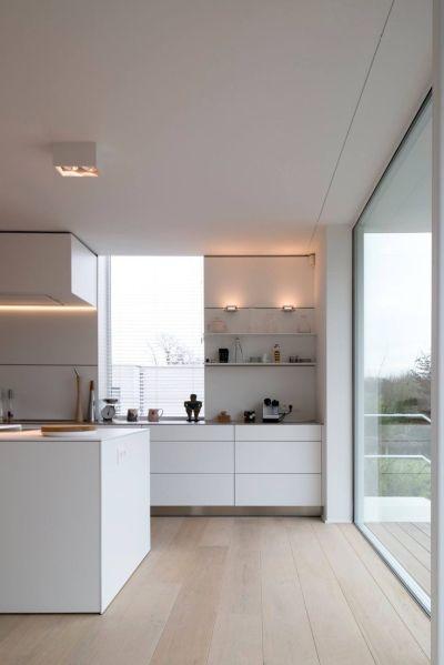 modern white kitchen cabinets 25+ best ideas about Modern white kitchens on Pinterest