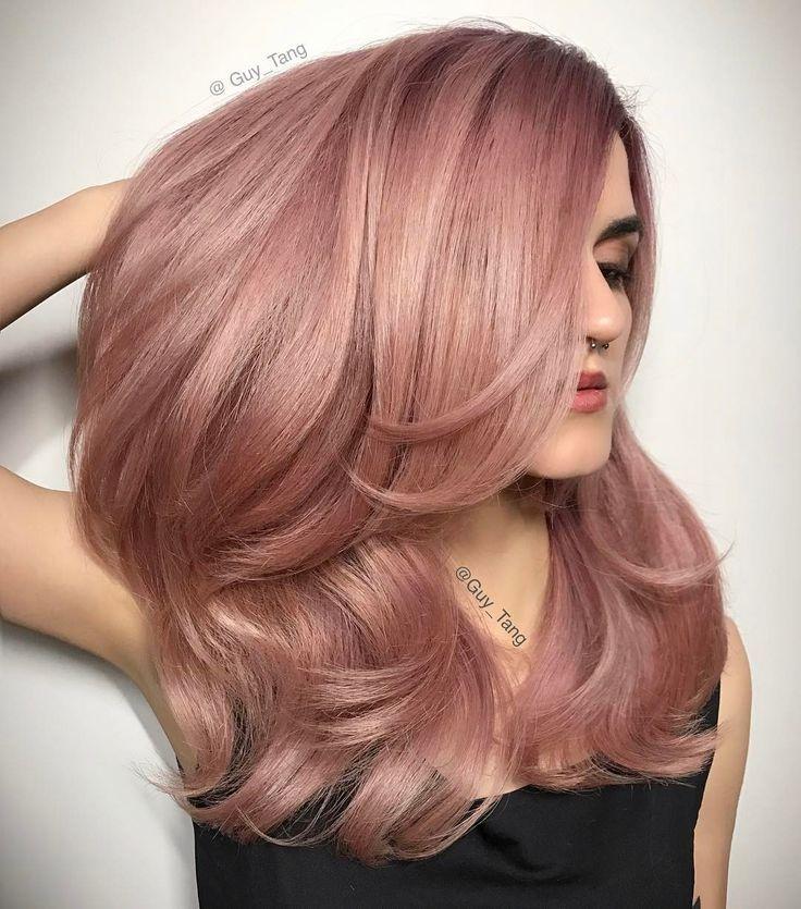 The 25+ best Rose gold hair ideas on Pinterest