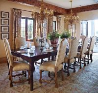 Custom hand-carved Italian chandeliers and antique French ...