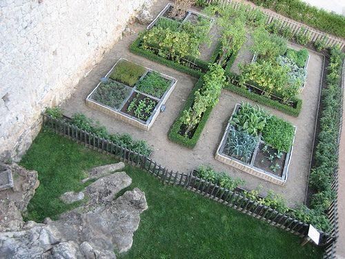 Jardin Potager Du Château De Castelnaud By Romytetue Gardens