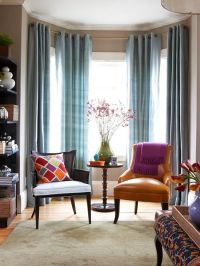 What Color Curtains With Blue Gray Walls