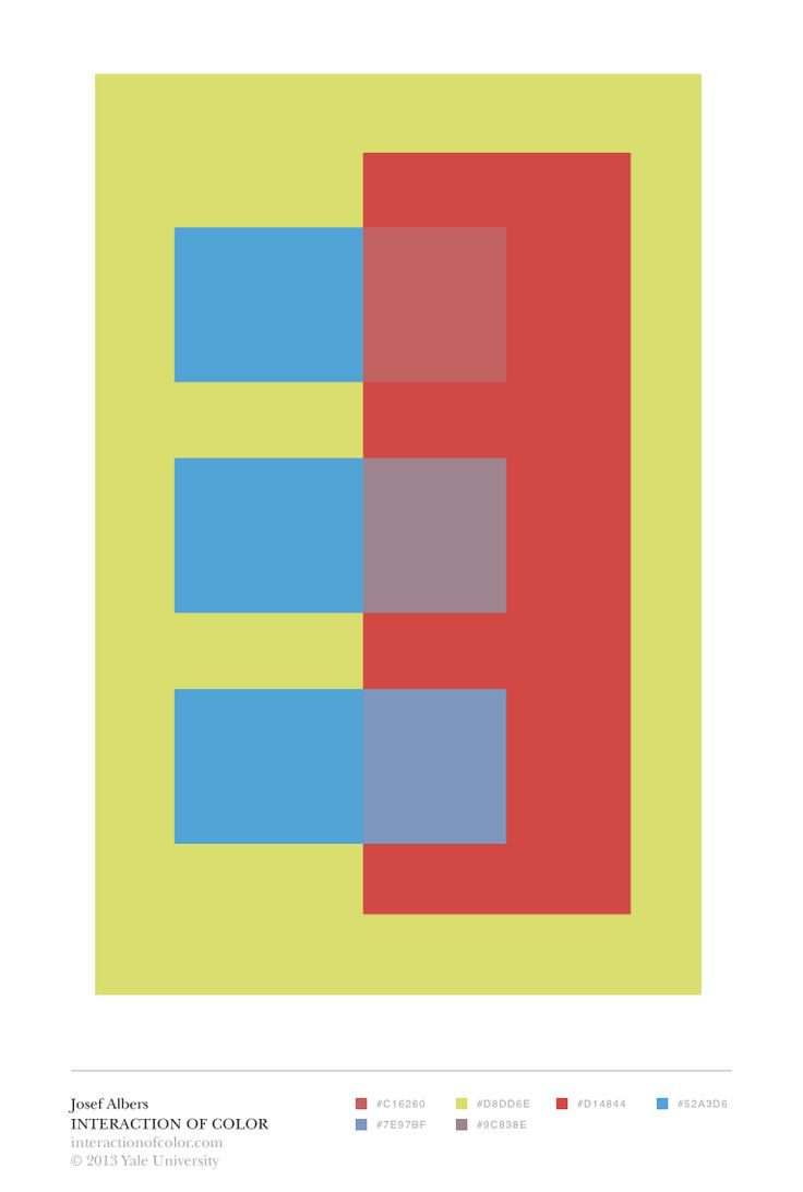 26 best images about Albers IoC App Color Studies on