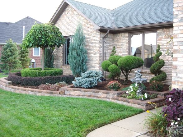 25 Best Ideas About Front Yards On Pinterest Front Landscaping