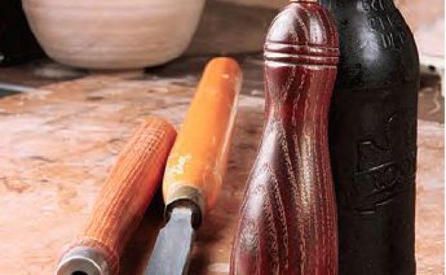 Making Hardwood Bottle Opener Handles Turning On A Lathe