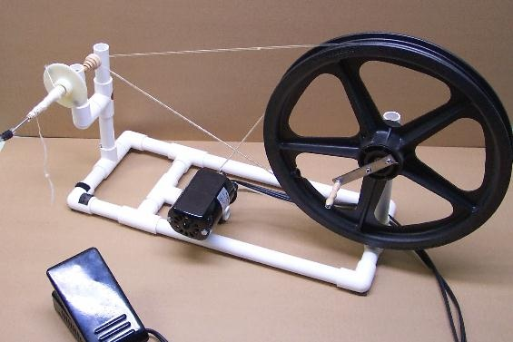 Hobby Robotics Build Your Own Electric Spinning Wheel
