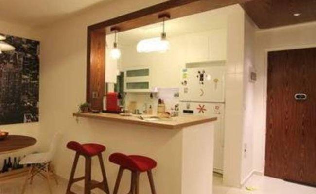 Counter Kitchen Bar Design For Small Areas Questa Cucina è