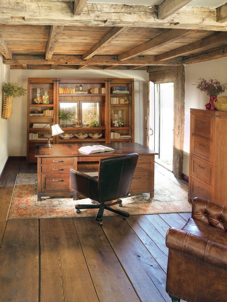 1000 ideas about Rustic Home Offices on Pinterest