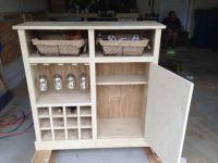 Shanty Console turns Wine Cabinet | art/home decor ...