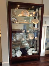 25+ best ideas about China cabinet decor on Pinterest