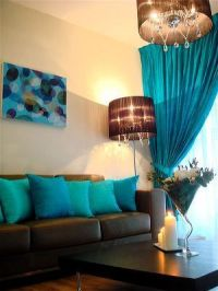 130 best Brown and Tiffany Blue/Teal Living Room images on ...