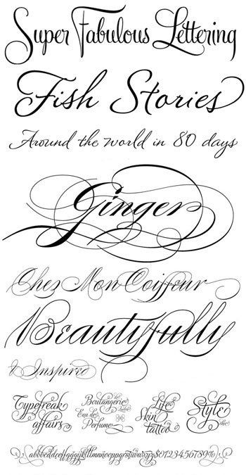 25+ best ideas about Tattoo lettering styles on Pinterest