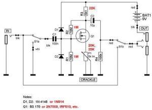 SHO boost pedal schematic | informatique électronique