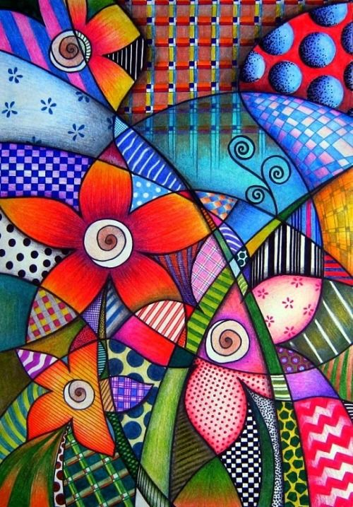 17 Best images about Doodle me up some Whimsy Colorful Whimsical Doodles on Pinterest  Gardens