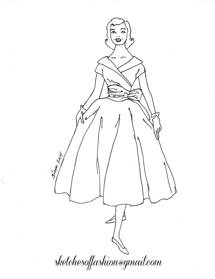 Fashion design a fashion sketch colouring pages,fashion