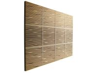 Sound insulation and sound absorbing panel in wood and ...