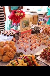 Bridal shower food display | Made by Me! | Pinterest ...