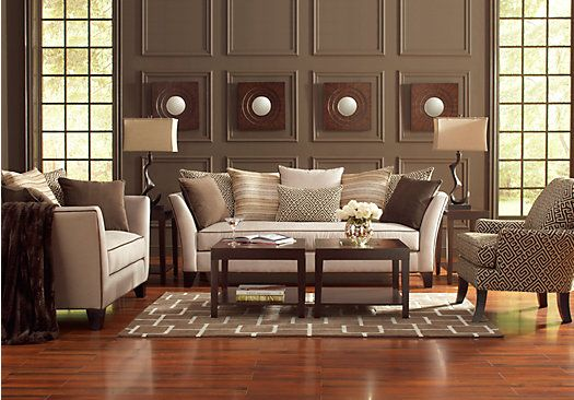 Shop for a Sofia Vergara Santorini 8 Pc Living Room at Rooms To Go Find Living Room Sets that