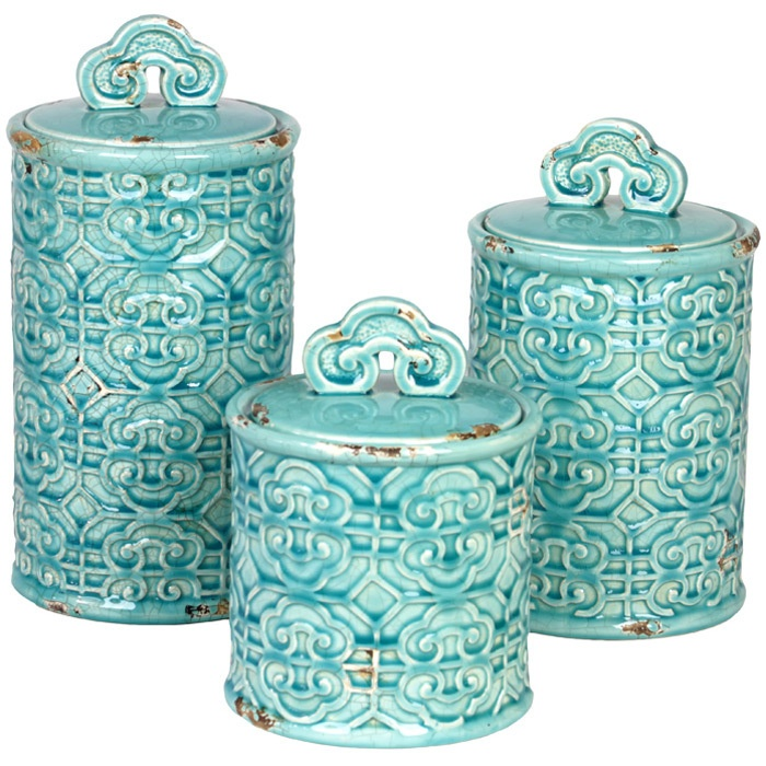 Chinois Canister Set  for the home  Pinterest  Canister