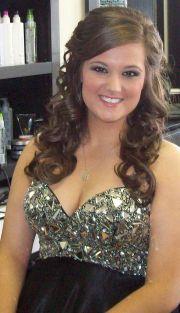 prom hair wear