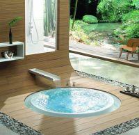In ground bathtub. Outdoor bathroom. | Architecture ...