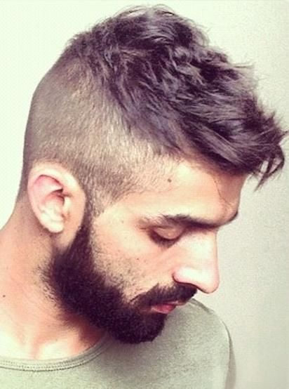 Men Hairstyle With Shaved Sides Hairstyles For Men Pinterest