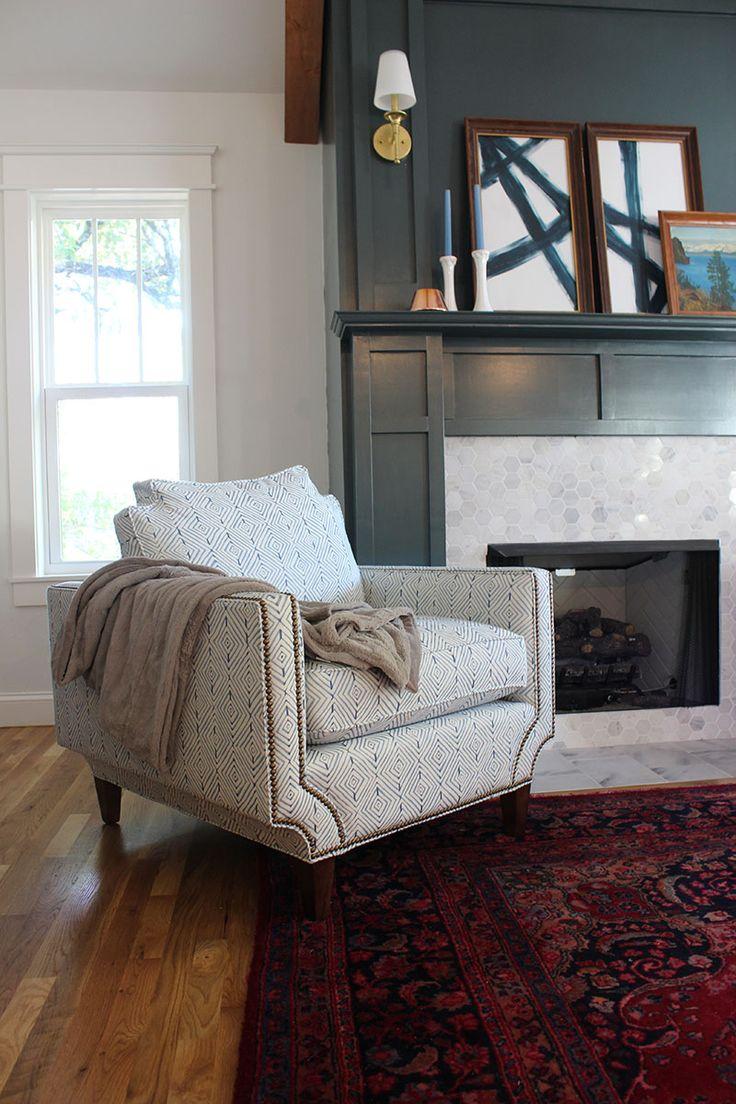 My New Arhaus Living Room Chairs  Hunter green Living