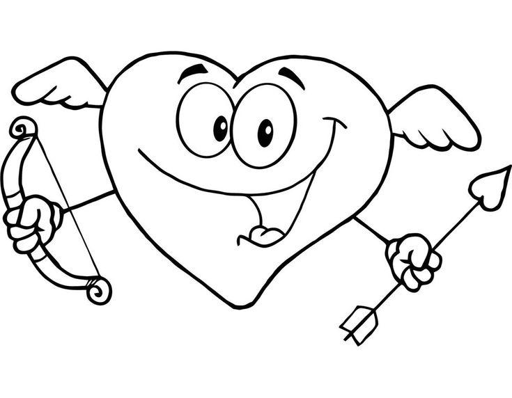 Dibujo De Chico Enamorado Para Colorear