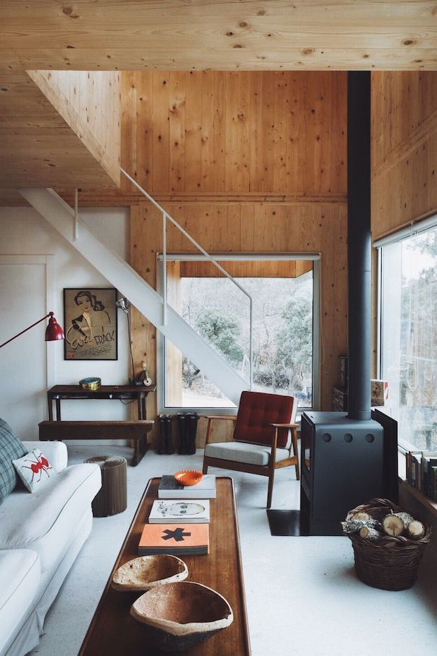 25 Best Ideas About Modern Cabin Interior On Pinterest Natural