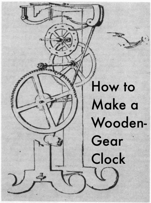 17 Best images about Wooden Gear Clock on Pinterest