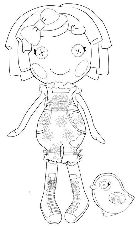 34 best images about Coloriages Lalaloopsy on Pinterest