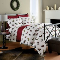 Scottie Flannel Bedding | The Company Store | Westie Stuff ...