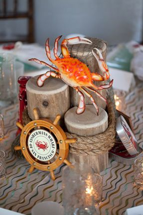 25 Best Ideas About Nautical Centerpiece On Pinterest