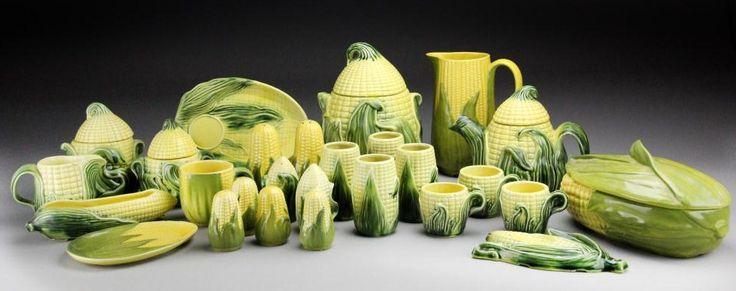 Shawnee Pottery Corn Collection  Shawnee Corn King