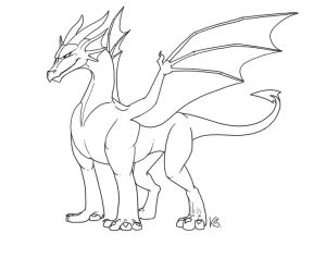 dragon outlines drawing easy drawings dragons suzidragonlady deviantart draw outline google head ii simple sketches chinese pencil lineart