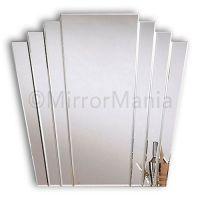 Trinity Art Deco Fan Mirror - Art Deco - Mirrors ...