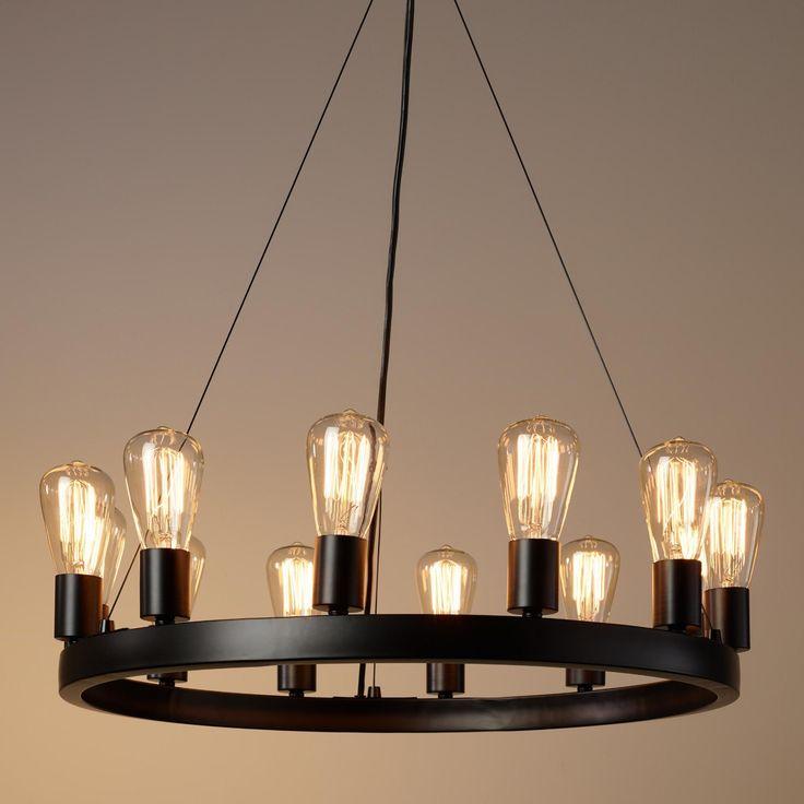1000+ ideas about Edison Bulb Chandelier on Pinterest
