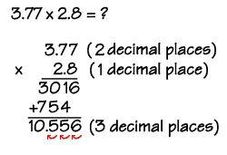 25+ best ideas about Multiplying decimals on Pinterest