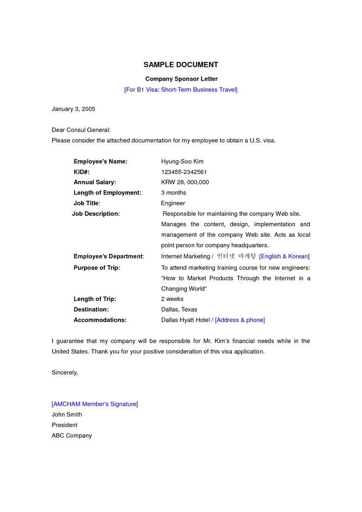 Visa Application Letter Uk Sample Fast Online HelpVisa Application Letter Application Letter