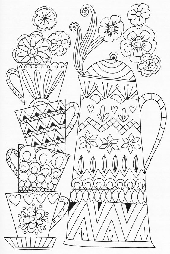 2712 best images about Adult Coloring Therapy-Free