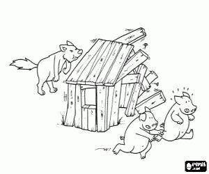 104 best Sprookje: De drie biggetjes! images on Pinterest
