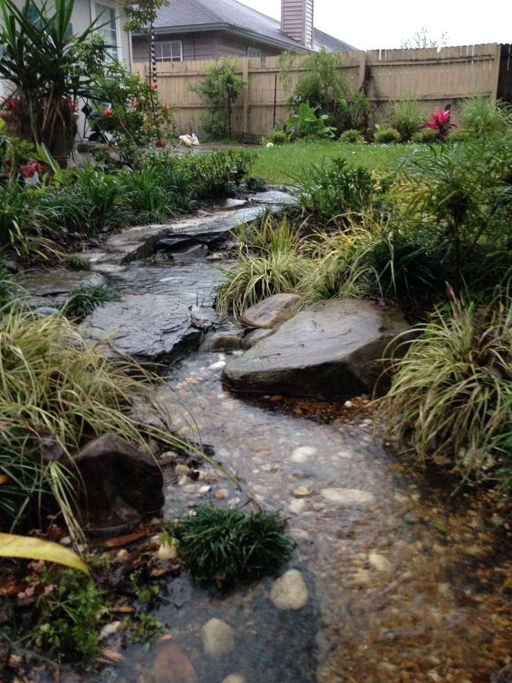 1000+ images about Rain Gardens/Dry River Rock Gardens on