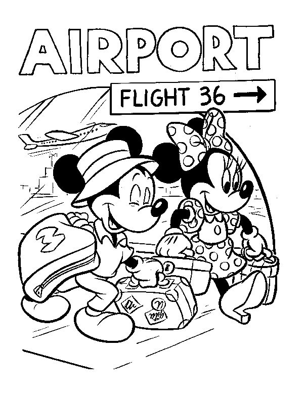 478 best images about Mickey Mouse & Friends Colouring