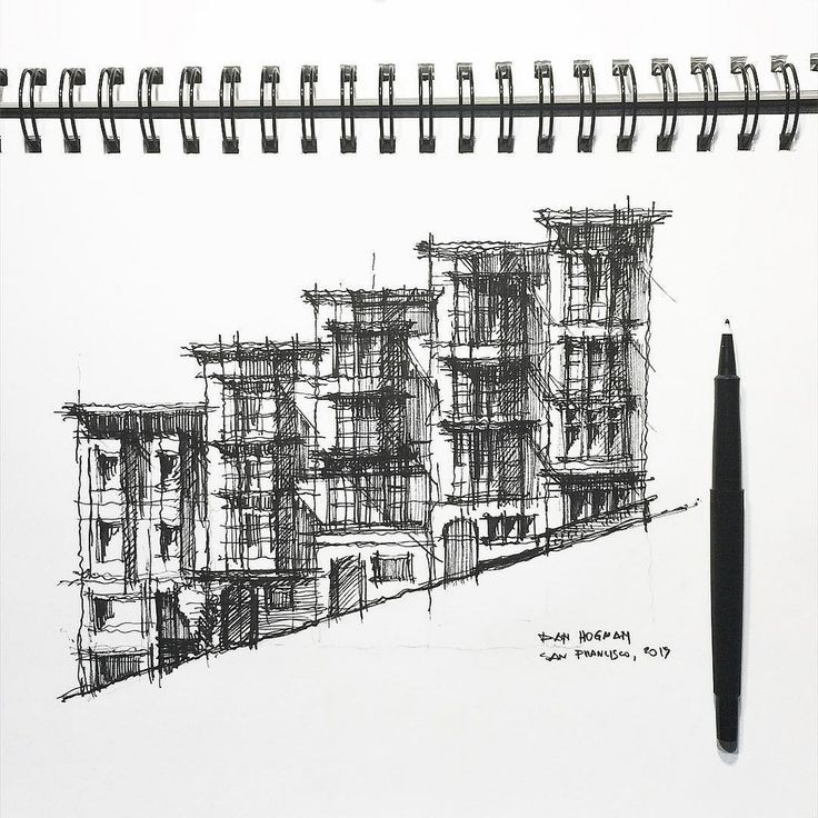 78+ ideas about Architectural Sketches on Pinterest
