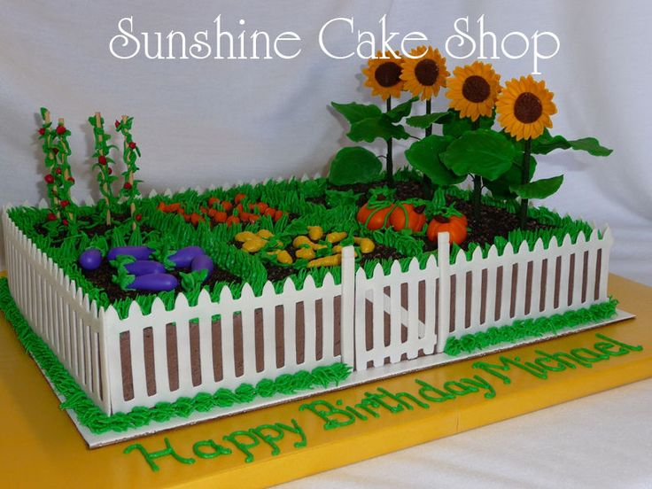 110 Best Images About Gardening Cakes On Pinterest Gardens